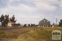 Dingee railway station, 2007