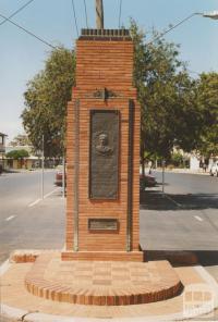 Percy Stewart memorial, Red Cliffs, 2007