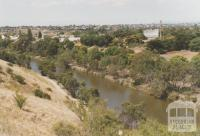 View over Maribyrnong River from Melbourne