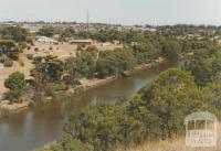 View of Maribyrnong River from Melbourne