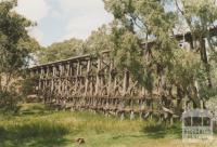 Railway trestle bridge, Pyalong, 2008
