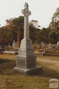 Eganstown cemetery, 2008