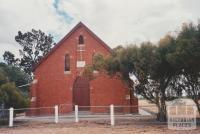 Vectis Zion Lutheran Church (1907), Lutheran school next door (1879-90, 1909-75), 2008
