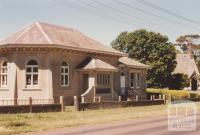 Presbyterian Sunday School hall (1912) and church (1883), Noorat, 2009
