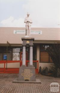 War memorial, Princes Highway, Trafalgar, 2010