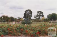 Morwell centenary rose garden, 2010