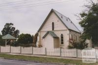 St Marys Church of England (1866) rear of primary school, Morwell, 2010