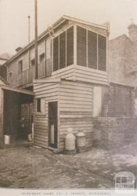 Suburban dairy, Hawthorn, 1911