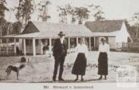 Mr Stewart's homestead 'Tolmie', Mansfield shire, 1919