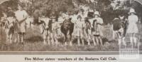 Boolarra calf club, 1931