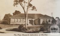 Plant Research Laboratory, Burnley, 1935