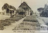 School plots, Koyuga, 1938