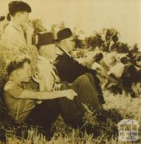 Annual field day, Mallee Research Station, Walpeup, 1960