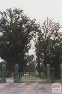 ANA commemorative gates, Maddingley, 2010