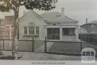 Malvern Baby Health Centre, Burke Road, 1935