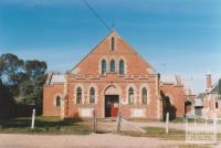 Wesleyan Sunday School (1886), Tweddale Street, Dunolly, 2010