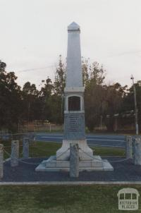 War memorial, Stuart Mill, 2010