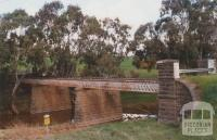 Old Avoca Road Bridge, Bet Bet Creek, near Bung Bong, 2010