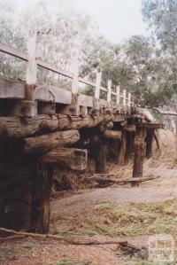 Archdale Humped Timber Bridge, Avoca River, 2010