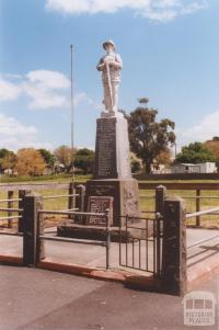 War Memorial, Beeac, 2010