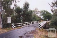 Dalhousie Bridge, Metcalfe, 2011