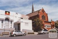 Former Court House and Catholic Church, Northcote, 2012