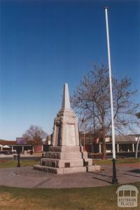 War Memorial, Wodonga, 2012