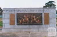 War Memorial, Alexandra, 2011