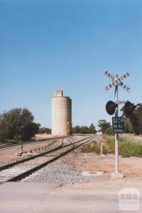 Railway Crossing and Silo, Katunga, 2011
