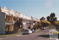 Terrace houses, Elgin Street, Hawthorn, 2012