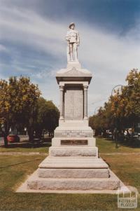 War Memorial, Nathalia, 2012
