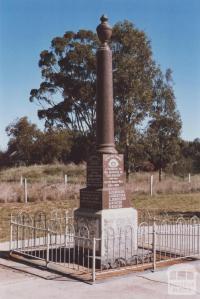 War Memorial, Lake Rowan, 2012