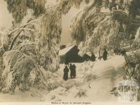 Winter at Mount St Bernard Hospice