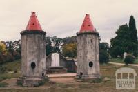 Beechworth cemetery, Chinese towers, 1980