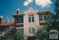 Entrance to Flemington School, 1987
