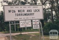 No 26 Weir and Lock, Torrumbarry, 1980