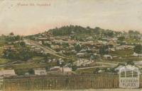 Wombat Hill, Daylesford, 1911