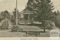 Bandstand, Botanic Gardens, Daylesford