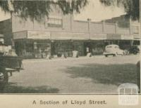 A section of Lloyd Street, Dimboola