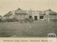 Dimboola High School (Soldiers' Memorial)