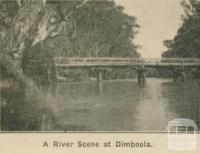 A river scene at Dimboola