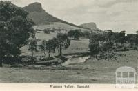 Wannon Valley, Dunkeld, 1952