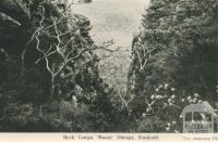 Back Gorge, Mount Abrupt, Dunkeld, 1952