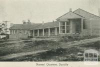 Nurses' Quarters, Dunolly