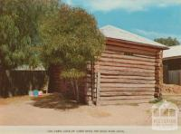 Log cabin lock-up (used since the gold rush days), Eaglehawk
