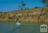 The red cliffs of Eagle Point Bluff on the Mitchell River