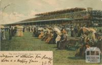 The Lawn, Flemington Race Course, 1903