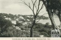 Panorama of Olivers Hill, Frankston