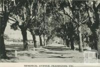 Memorial Avenue, Frankston