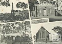 Fryerstown: Duke of Cornwall Mine; Burke and Wills Mechanics Institute; Court House: Methodist Church, 1979